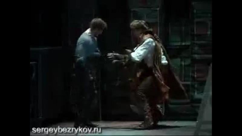 Спектакль Сирано де Бержерак С Безруков Л Боярская 21 12 2009 г