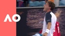 Emotions get the better of Pablo Carreno Busta (4R) | Australian Open 2019