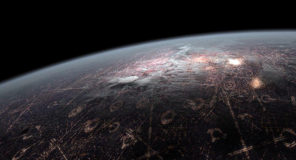 Картинки планета корусант все о планете