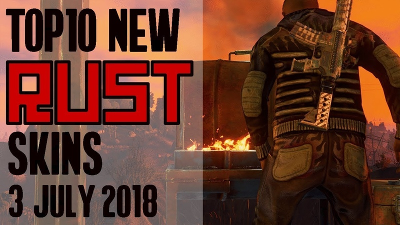 Xtab Skin Pix Weekly Top 10 NEW Rust WORKSHOP Skins 3 July 2018