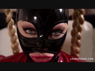Cock craving bdsm pornstar fucked by two dominators ◆ latex lucy ◆ fetish ◆ latex ◆ rubber ◆ latex lucy mystery masks