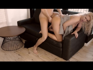Hot fit amateur couple making passionate sex tape in hotel room