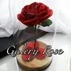 Идеи подарков Роза в колбе  Galery rose