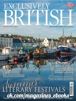 Exclusively British - July - August 2018