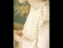 LYNETTE'S CHINOISERIE Spring Autumn Original Design Women French Romantic Lace Faux Twinset Dresses
