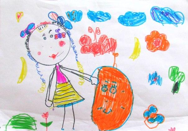 Рисунки моя любимая кукла