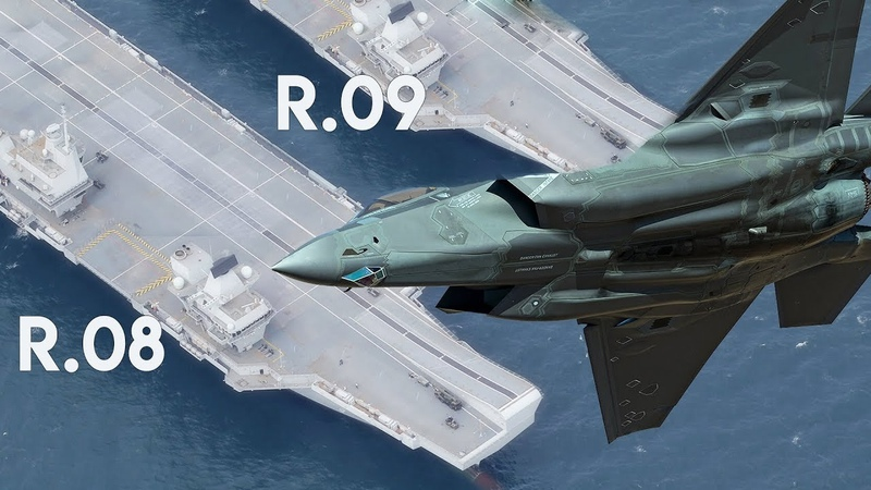 R08 and R09 UK's new Supercarrier will make British fleet one of 'the best navies in the world'