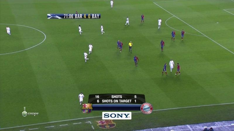 ЛЧ2008 09 1 4 1матч Барселона Бавария 2тайм