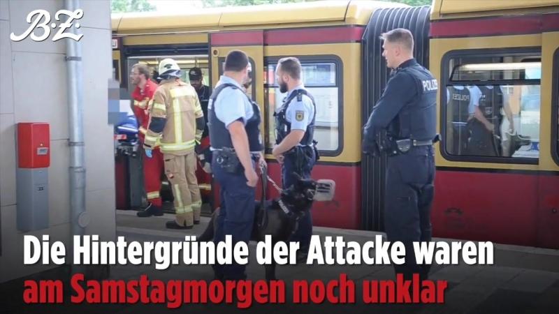 Berlin Greifswalder Straße Zwei schwerverletzte Touristen aus Mexiko nach Messerangriff in S Bahn Täter flüchtig 16.06.