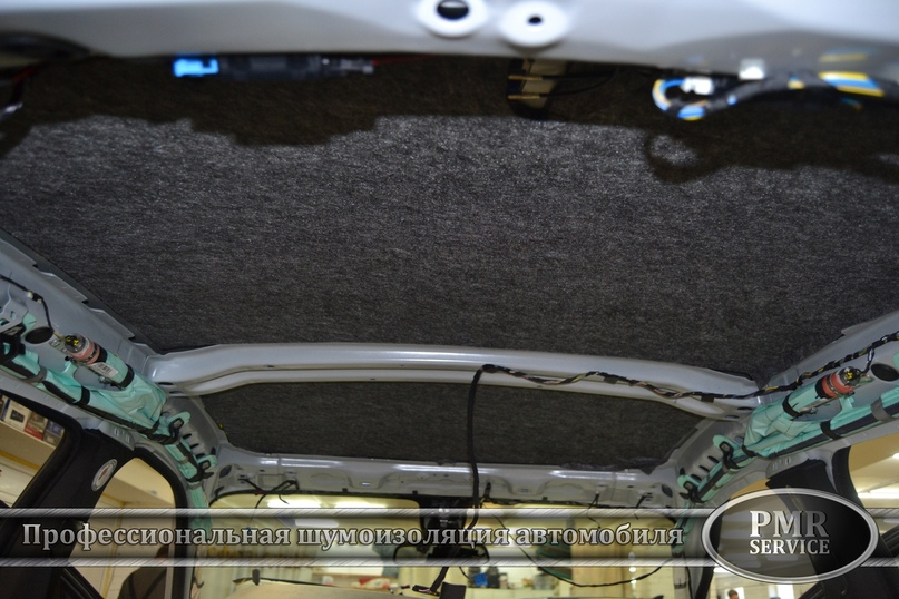Шумоизоляция BMW X6 M, изображение №11