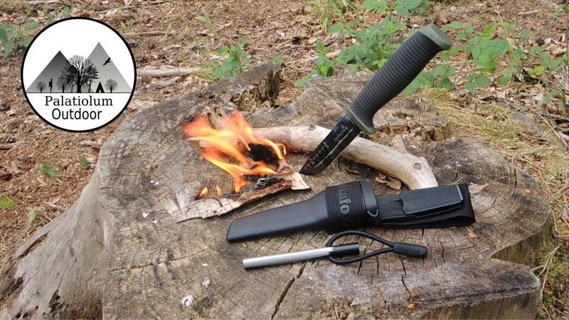 Outdoor Messer Hultafors OK4 Testbericht Review