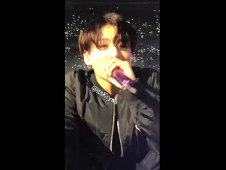 when jungkook took a fan's phone and recorded himself