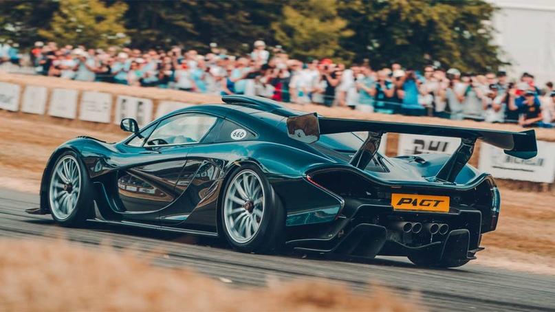 2018 McLaren P1 GT