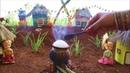 Miniature Pongal | Makar Sankranti | Pongal Recipe | Miniature Cooking 34 | Mini Foodkey