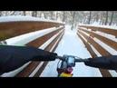 Staunton State Park | Fat Bike | Big Snow