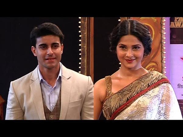 Gautam and Jennifer aka Saras and Kumud at Star Parivaar Awards 2014