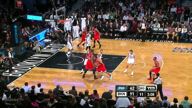 Joe Johnson 37 points (10 3-pointers) vs Sixers - Full Highlights (2013.12.16)