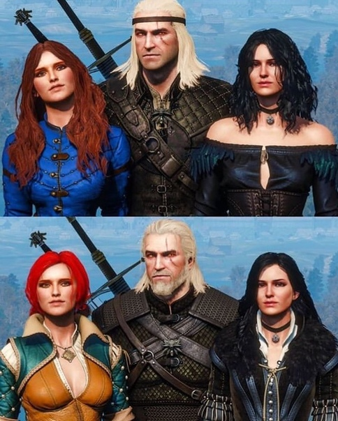 Все персонажи ведьмака на одной картинке