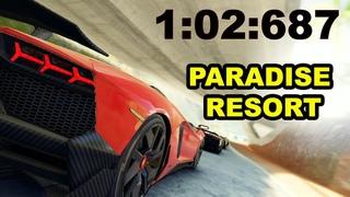 Asphalt 9: Lamborghini Aventador J: Contest (1:02:687) | Paradise Resort