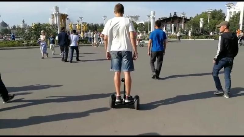 миниСигвей осваиваем))
