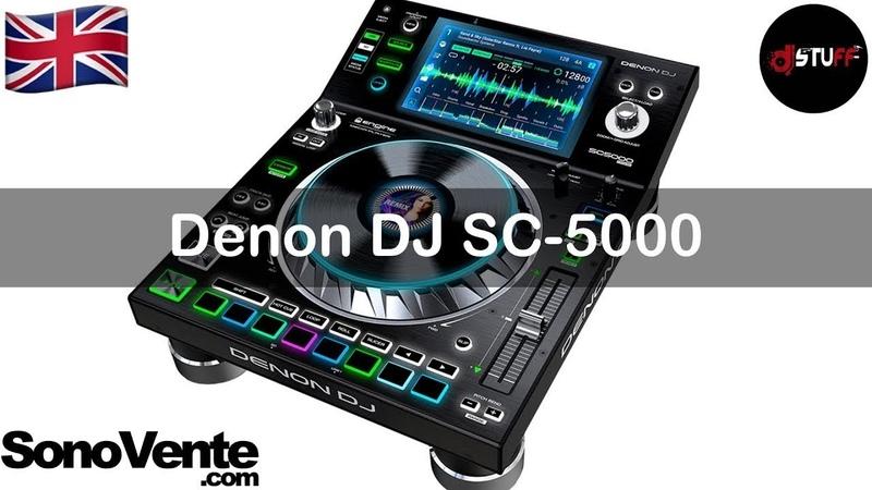 RE UPLOAD Denon DJ SC5000 Prime 🇬🇧