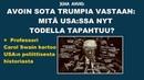 Juha Ahvio Avoin sota Trumpia vastaan