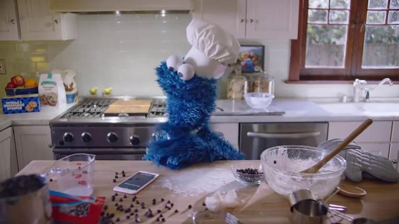 Apple Siri и куки мостр Как приготовить печенье