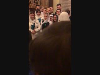 Поздравление от православной молодёжи в Рождественскую ночь