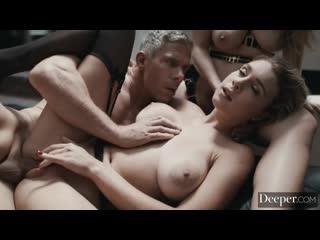 Lena paul and gabbie carter [all sex, hardcore, blowjob, threesome, big tits]