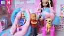 КАТЯ И МАКС ВЕСЕЛАЯ СЕМЕЙКА ПОМЕНЯЛИСЬ ВОЛОСАМИ С КУКЛОЙ Мультики с куклами Барби новые