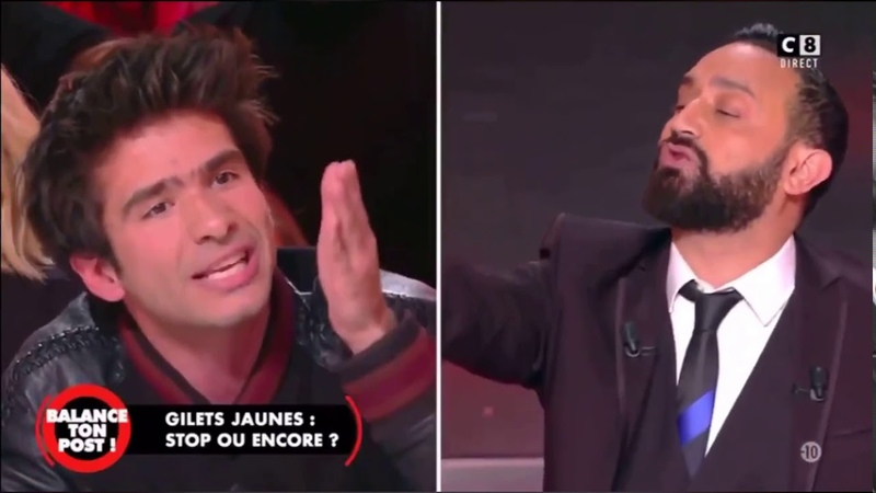 CYRIL HANOUNA PÈTE UN CABLE FACE À JUAN BRANCO - «T'ES UN ABRUTI»