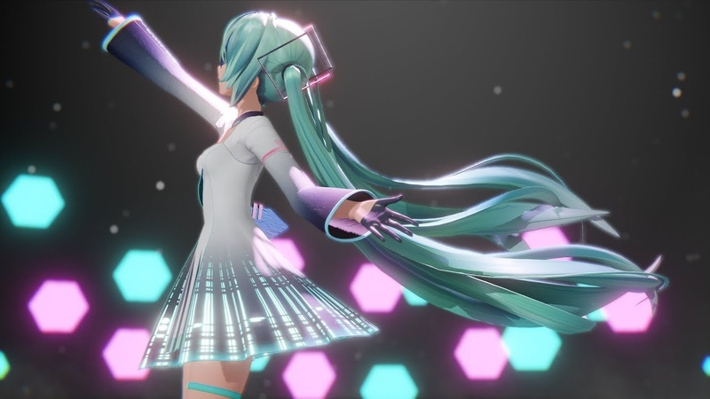 MMD Hand in Hand YYB式初音ミク 10th
