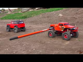 RC ADVENTURES - TUG OF WAR - 14 Trucks, Power Pulling - POKER RALLY TTC 2016 - PT 2 RC models