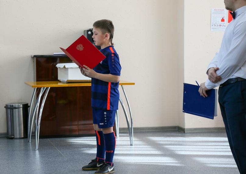 СКА-Хабаровск-2008» посвятили в юные армейцы, изображение №4