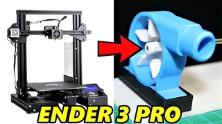 My New 3D Printer UnBoxing & Making A Powerful Water Pump