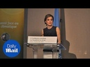 Spain's Queen Letizia delivers impassioned speech on climate - Daily Mail