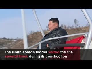 Новый горнолыжный курорт северной кореи yangdok hot spring