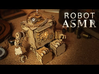 Asmr robot 🤖 steampunk tingle bot other satisfying triggers for sleep relaxation