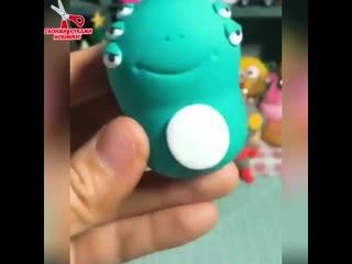 Невероятно красивые игрушки из пластелина!