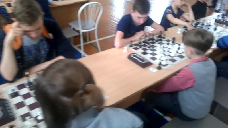 Чемпионат Маслянинского района по шахматам среди школ 2019 года