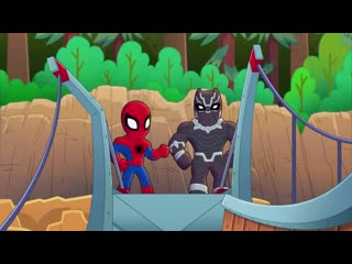 Marvel super hero adventures –  family ties