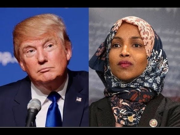 (571) WATCH WHAT PRESIDENT TRUMP JUST SAID TO ILHAN OMAR! - YouTube