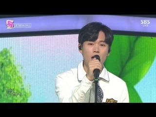 Ki seop jang (feat. wel.c) i like you @ inkigayo 180930