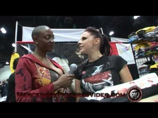 Sincerre LeMore @ Erotica LA: Gianna Michaels Interview