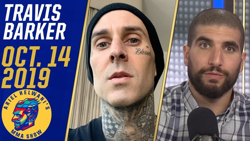 Travis Barker lists Jon Jones and Nate Diaz among his favorite fighters Ariel Helwani's MMA Show