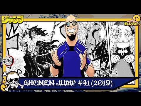 Shonen Jump 41 (2019) - Kimetsu no Yaiba 173 | Boku no Hero 242 | Black Clover 219