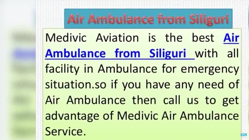 Air Ambulance from Bhopal and Jabalpur by Medivic Aviation with Physician Doctor