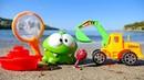 Spielspaß am Strand - OmNom geht ans Meer - Spielzeugvideo für Kinder