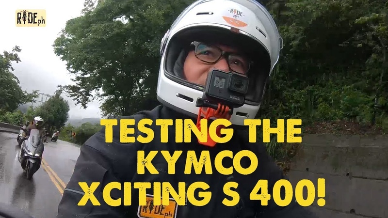 Jay puts the Kymco Xciting S 400 to the test! (SE4/EP5 - Part 2)