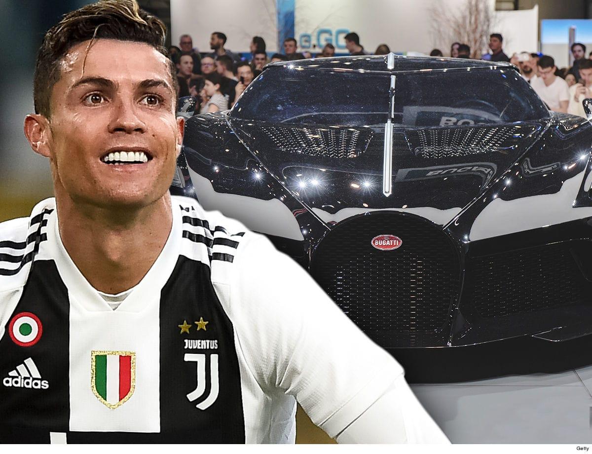 картинки роналдо и его машины него поступает